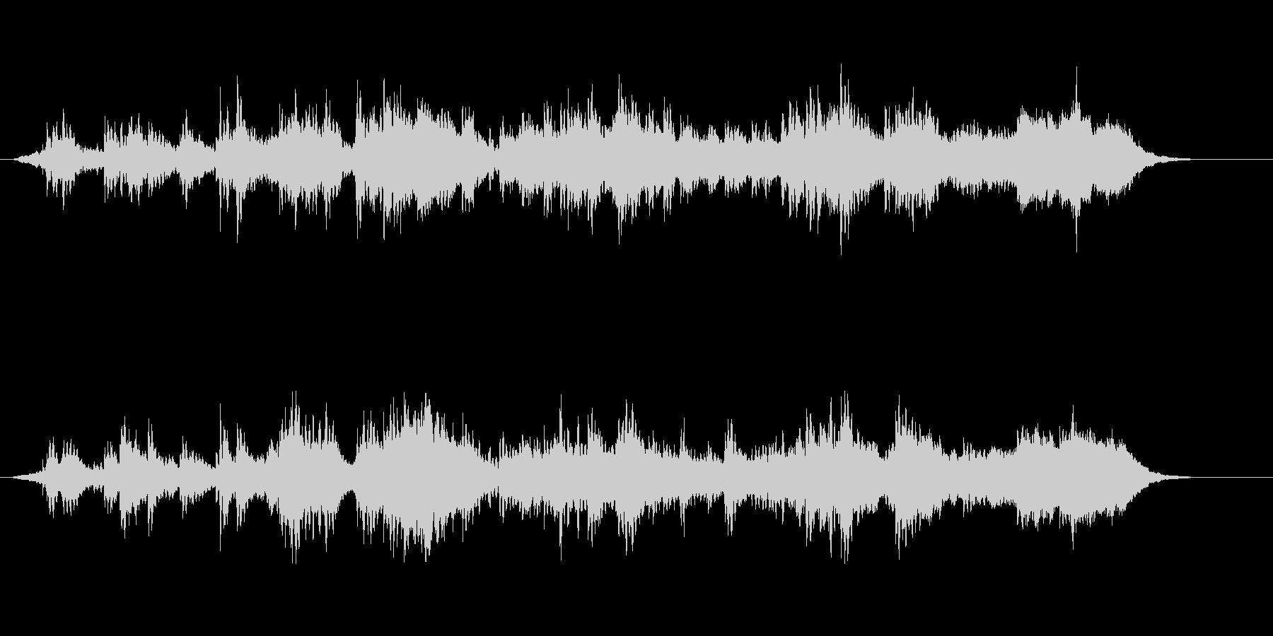 環境音楽(サイエンス・タッチ)の未再生の波形