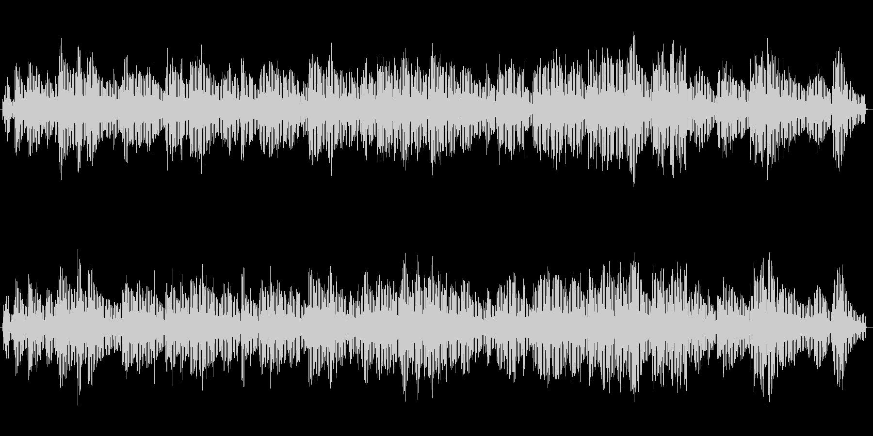 ローズピアノソロによる夜の雰囲気BGMの未再生の波形
