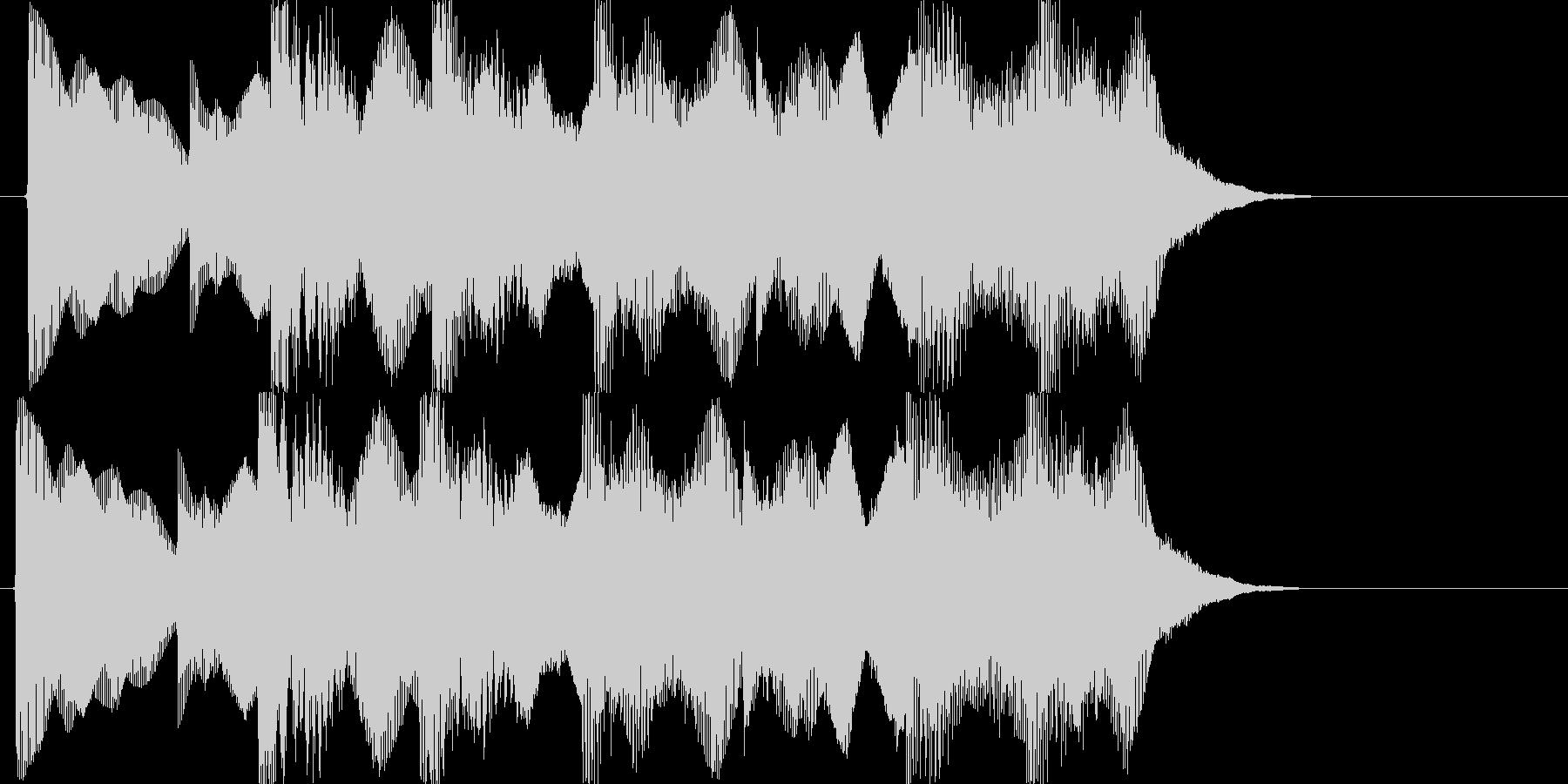 負けた時の残念な音02の未再生の波形