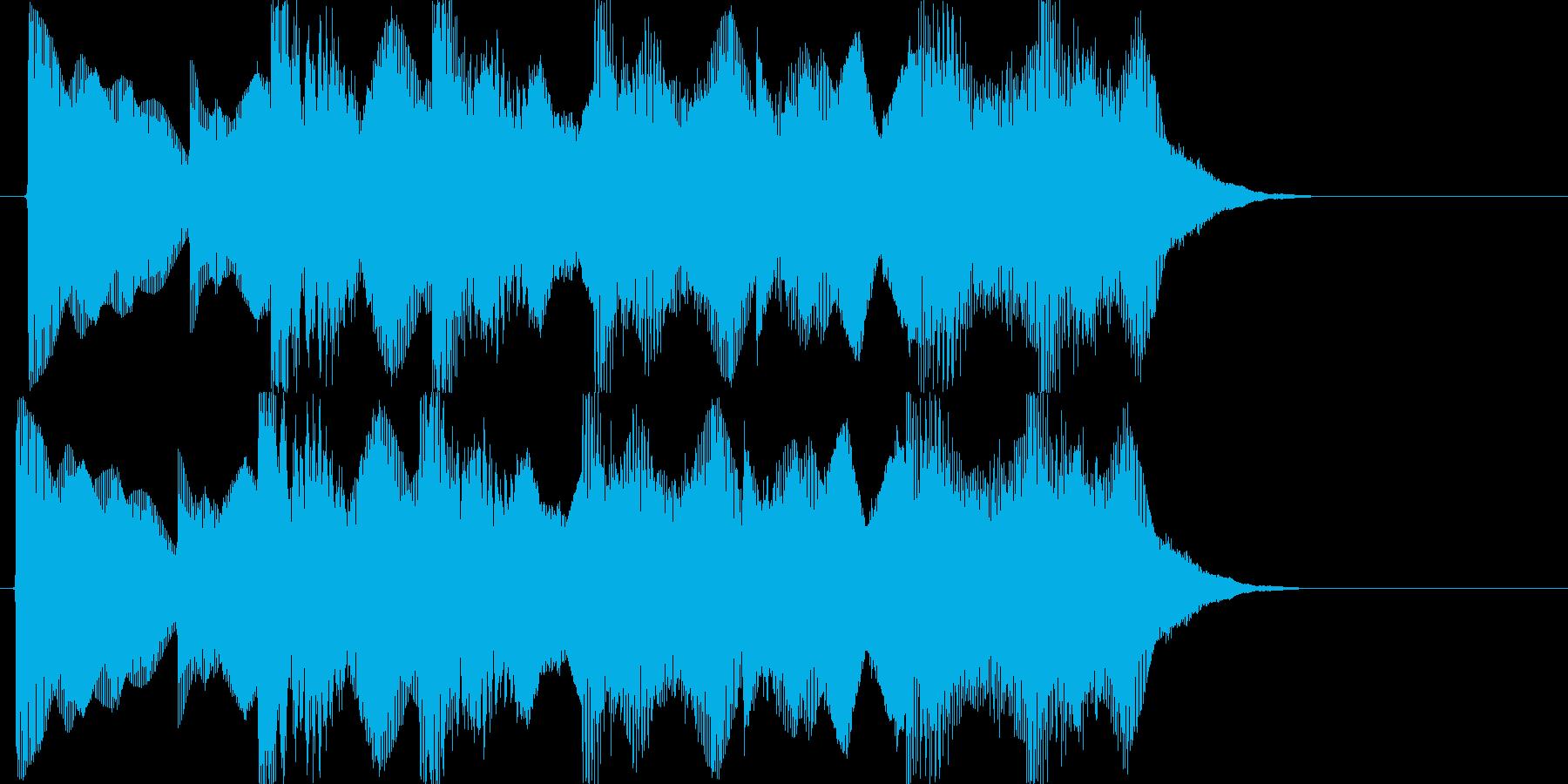 負けた時の残念な音02の再生済みの波形