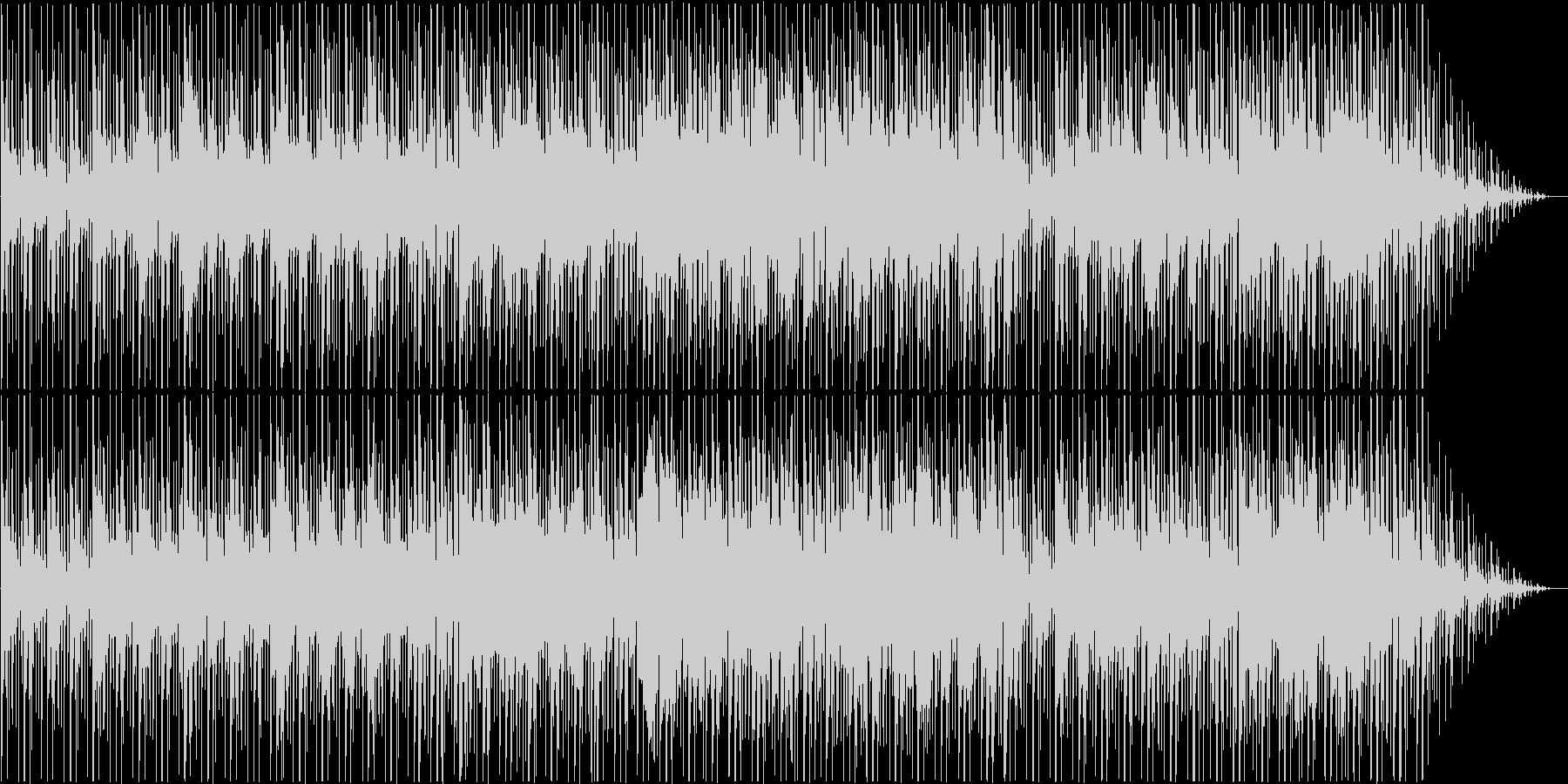 ローズエレピが心地よいスムースジャズの未再生の波形