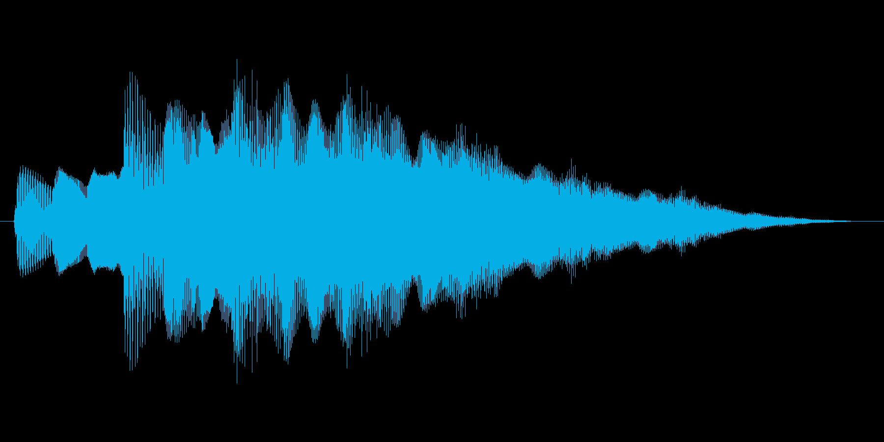 ファミコン風 台詞.ポップアップ系 02の再生済みの波形