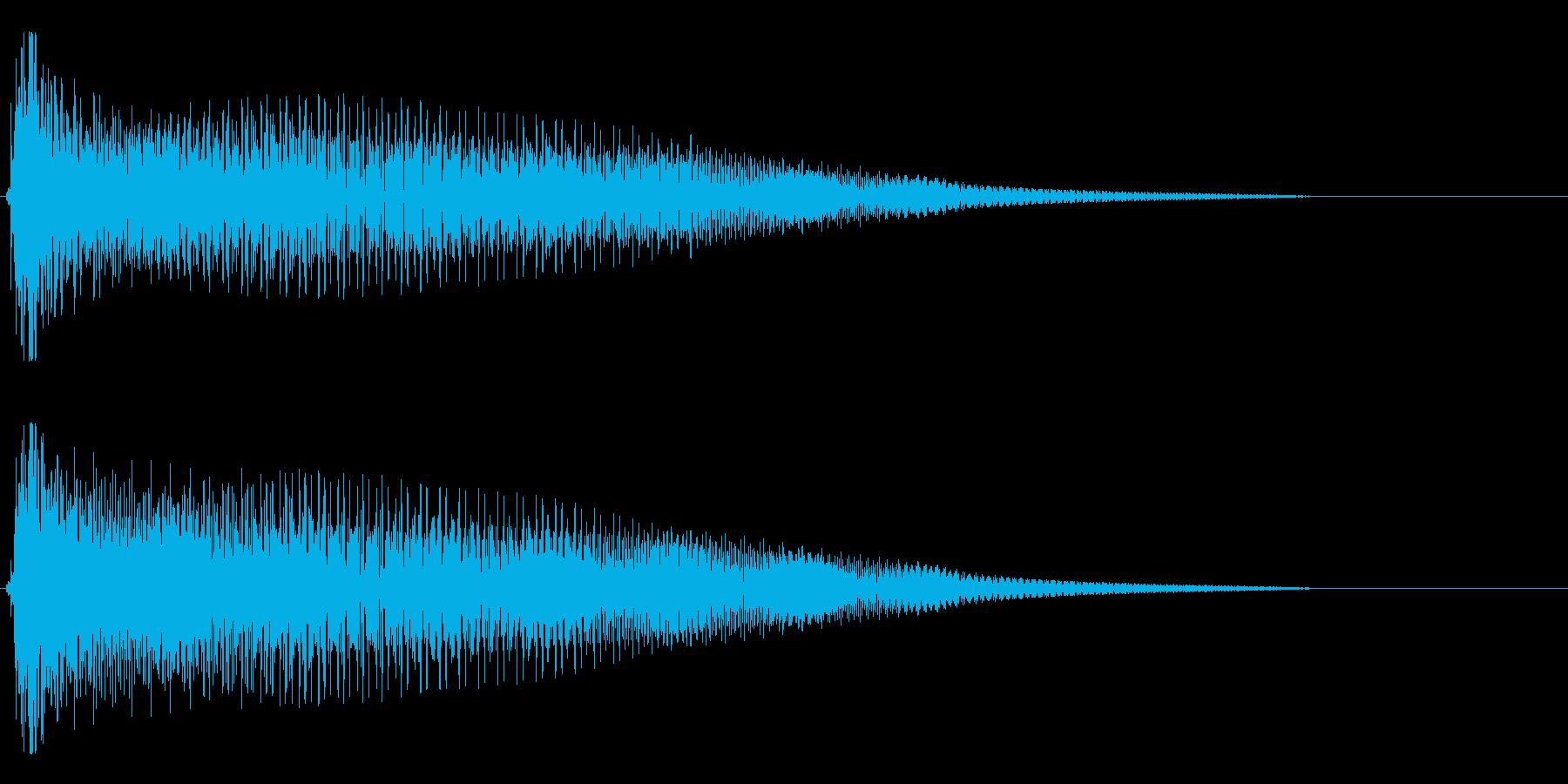 【斜に構える3】の再生済みの波形
