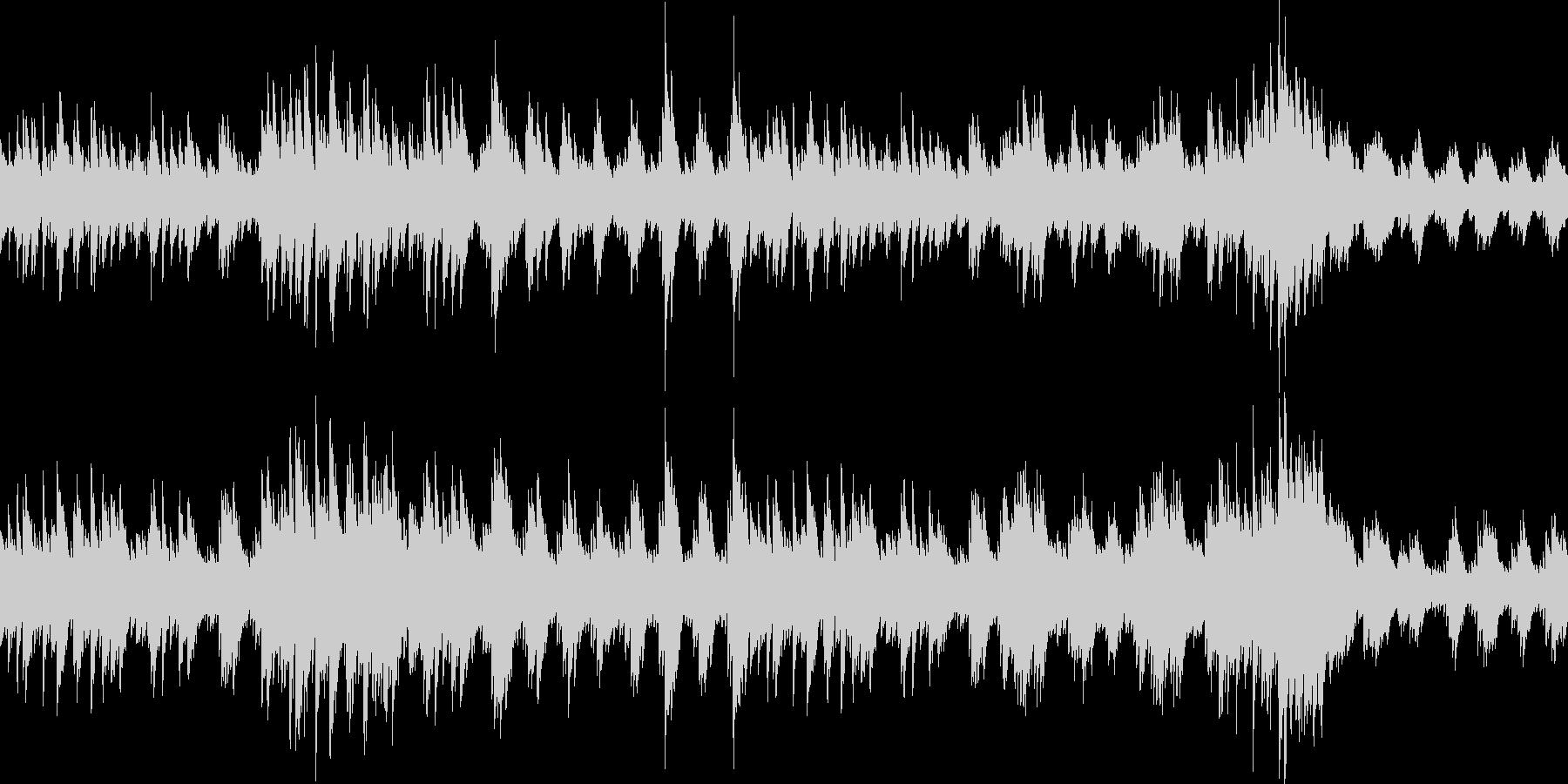 ループ:深い森、切なく悲しいピアノソロの未再生の波形