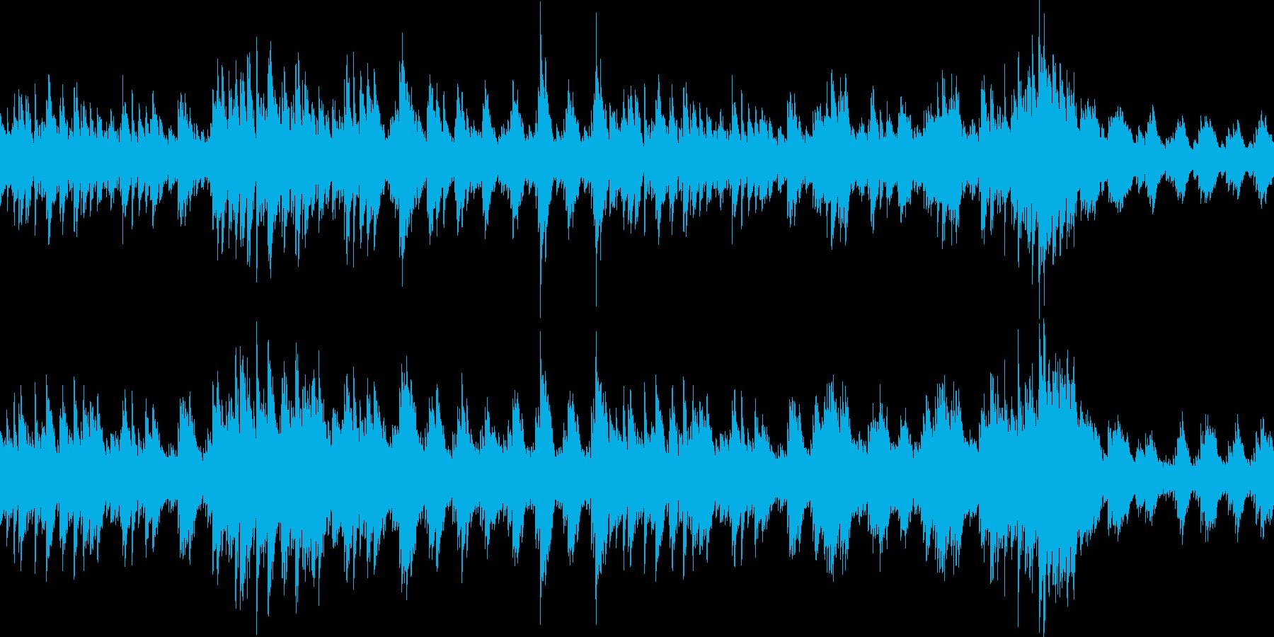 ループ:深い森、切なく悲しいピアノソロの再生済みの波形