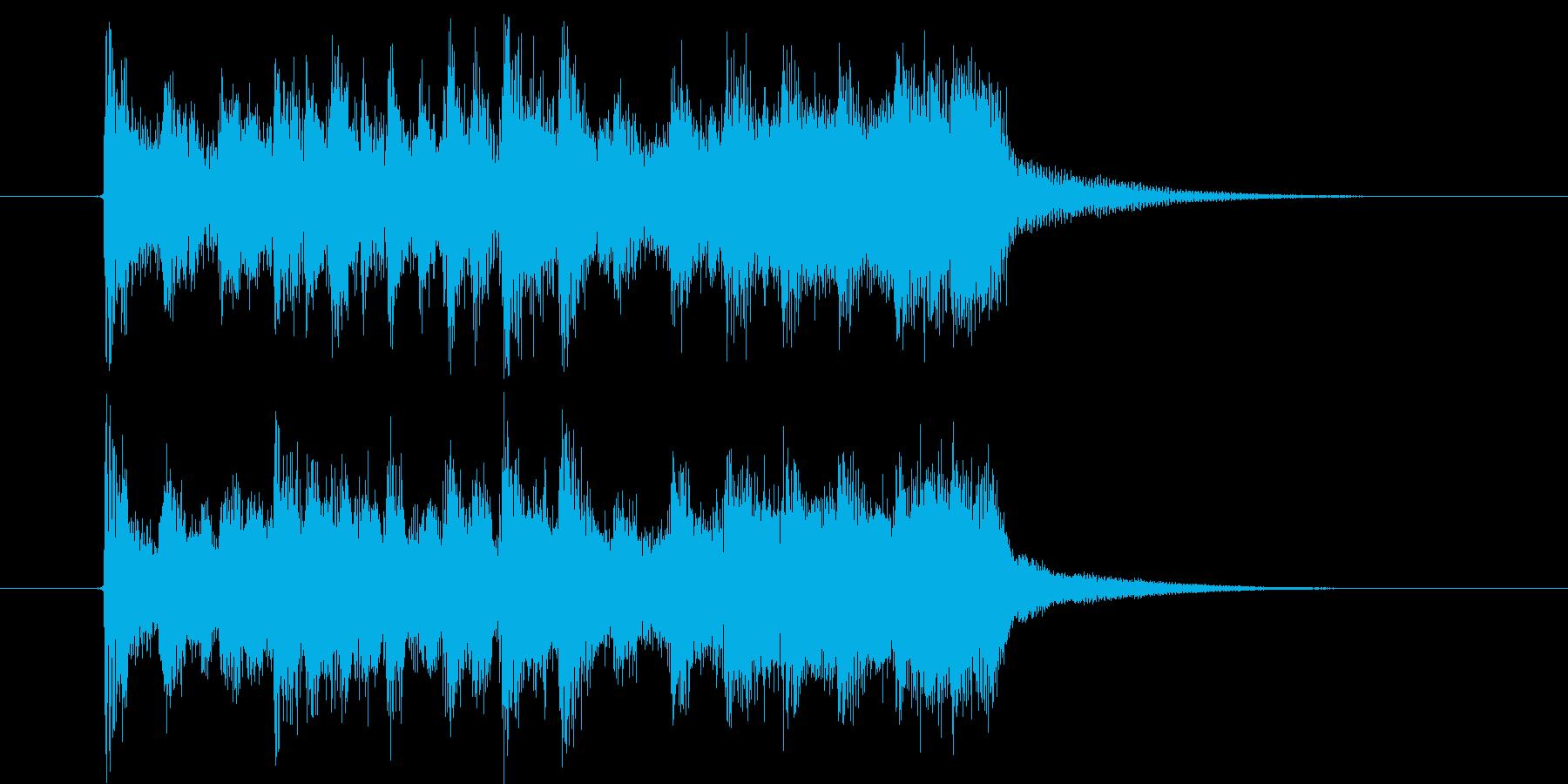壮大な空間にトランペットが奏でるポップスの再生済みの波形