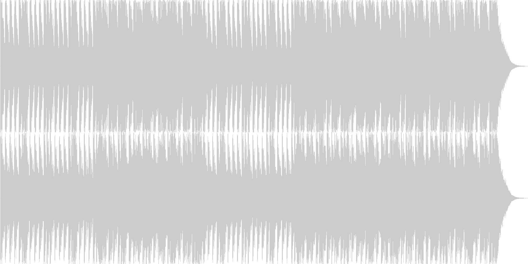 バトルシーン(オーケストラ風)の未再生の波形