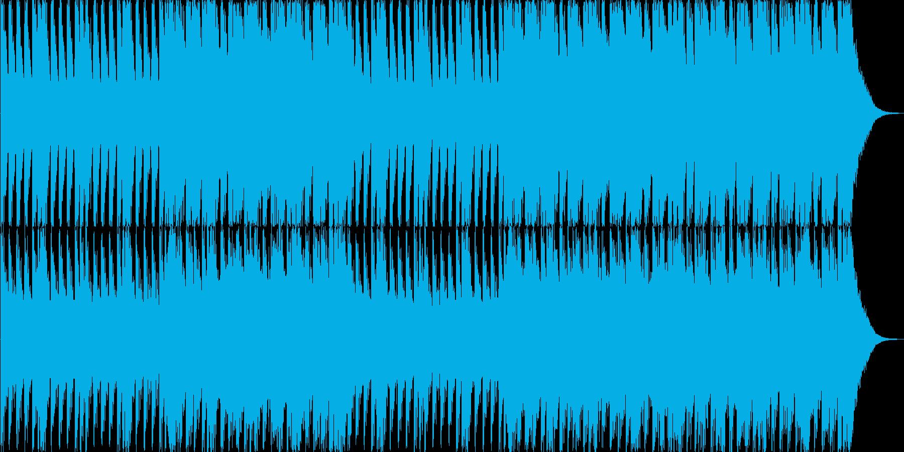 バトルシーン(オーケストラ風)の再生済みの波形
