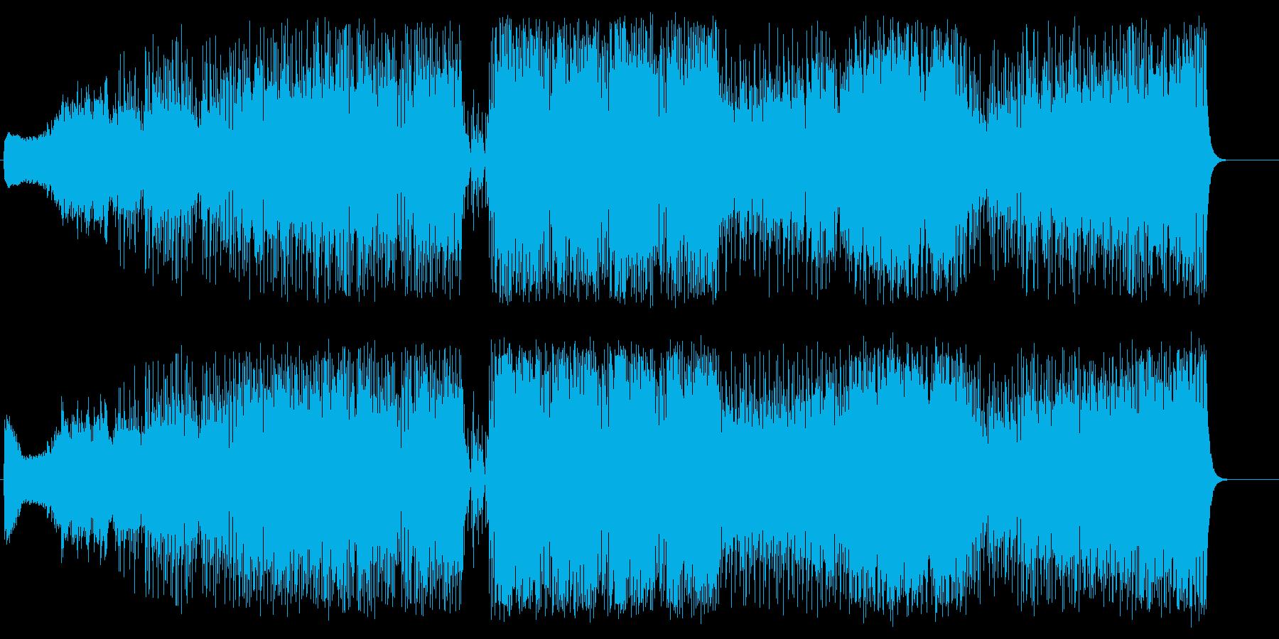 フュージョン、インテリジェットなポップスの再生済みの波形