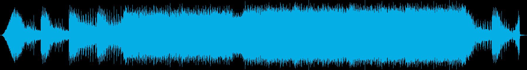 疾走感のある戦闘BGMの再生済みの波形
