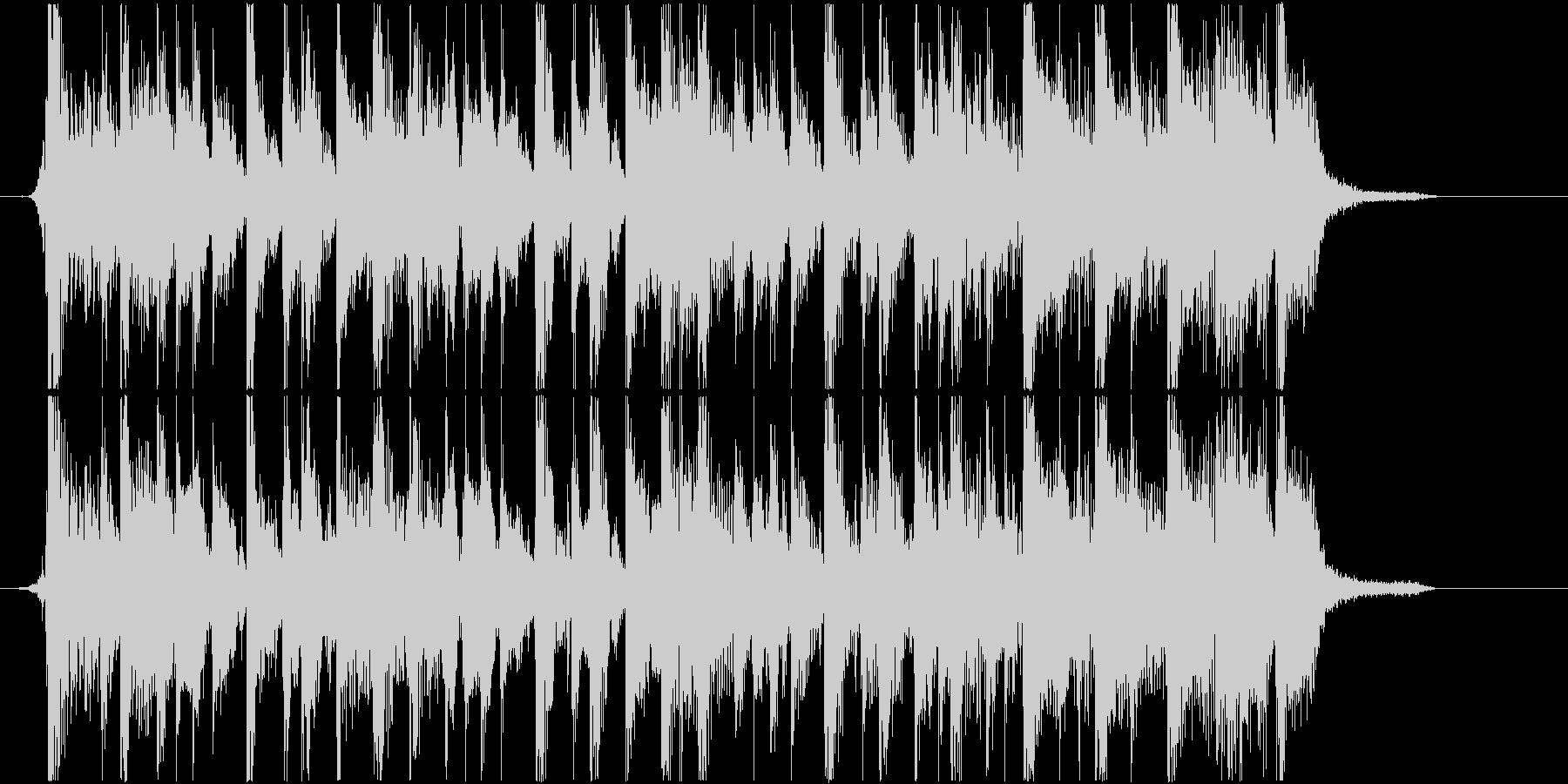 ファンキーなスラップジングル(ハーフ)の未再生の波形