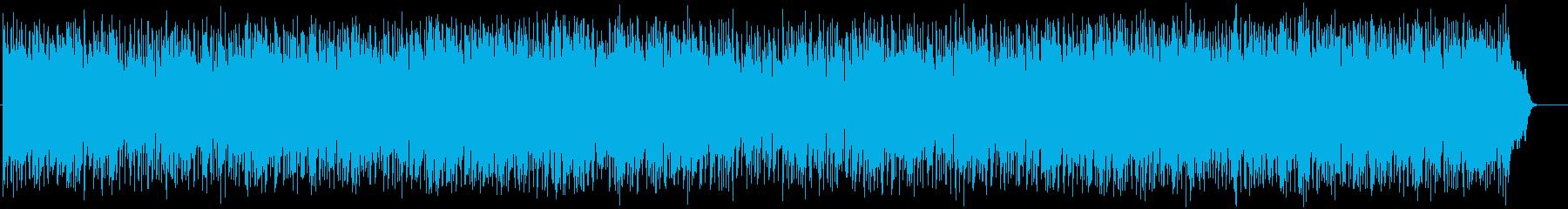 安心感のあるフュージョン(フルサイズ)の再生済みの波形