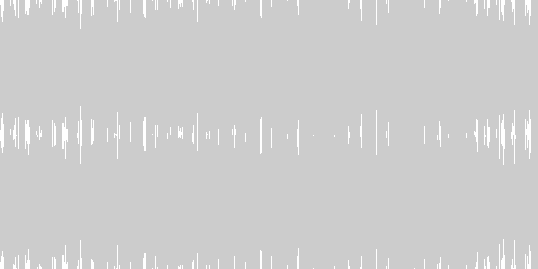 シューティングなど/疾走感/ループ可の未再生の波形