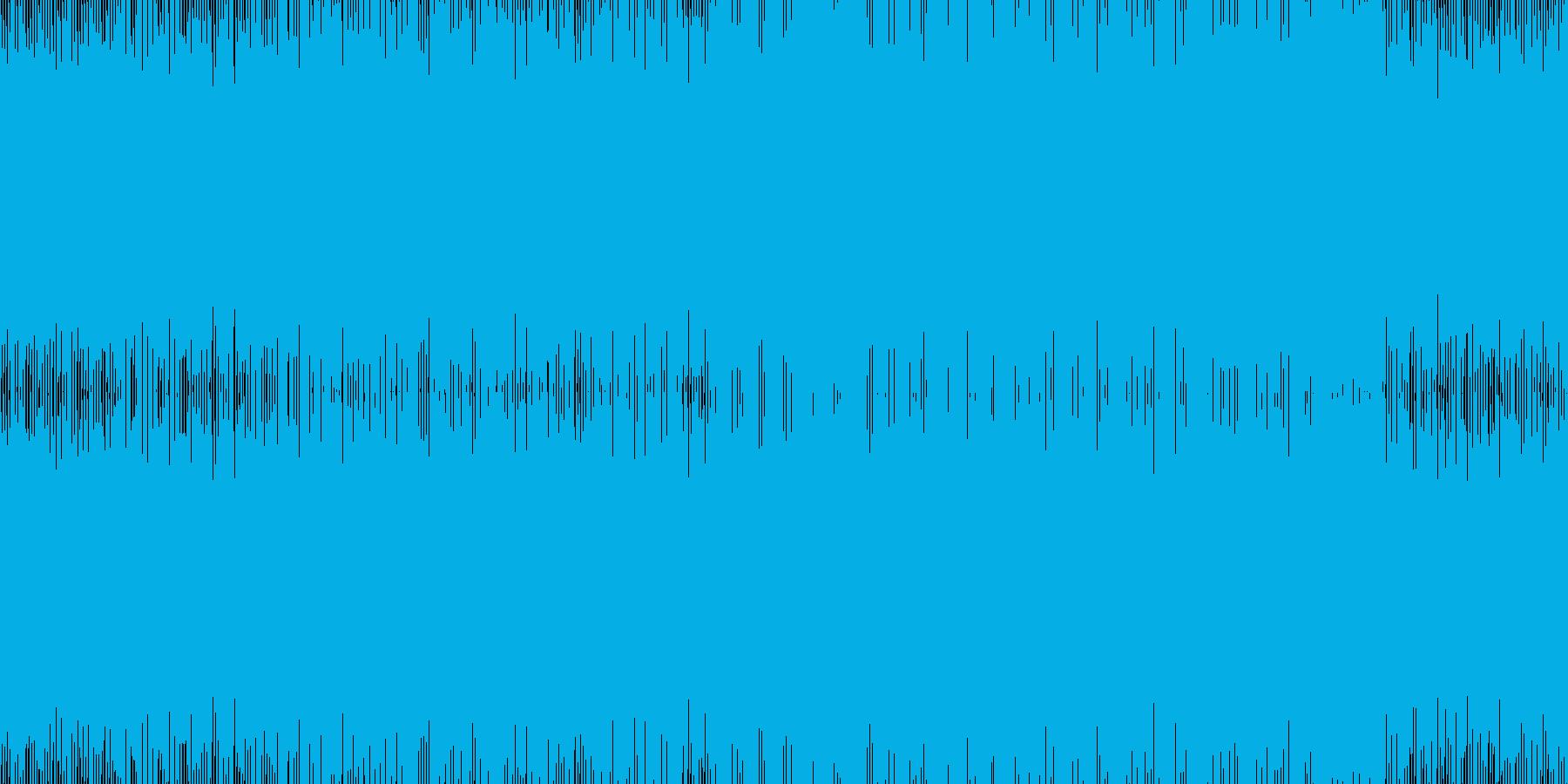 シューティングなど/疾走感/ループ可の再生済みの波形