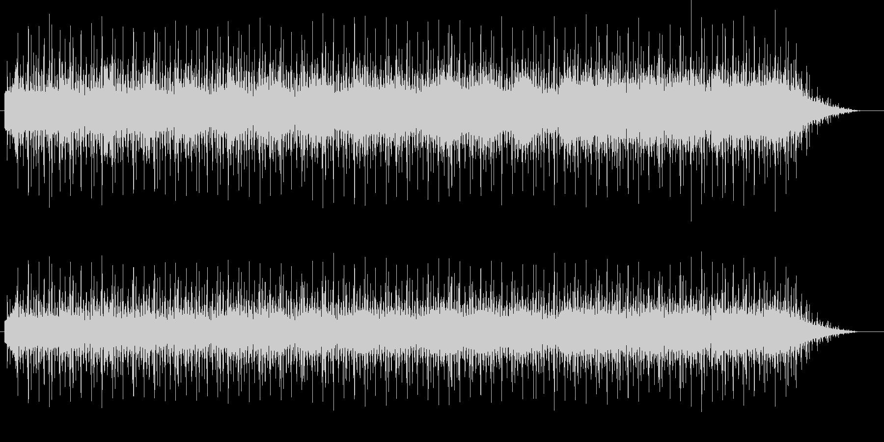 エレキギターがクールでハードなファンクの未再生の波形