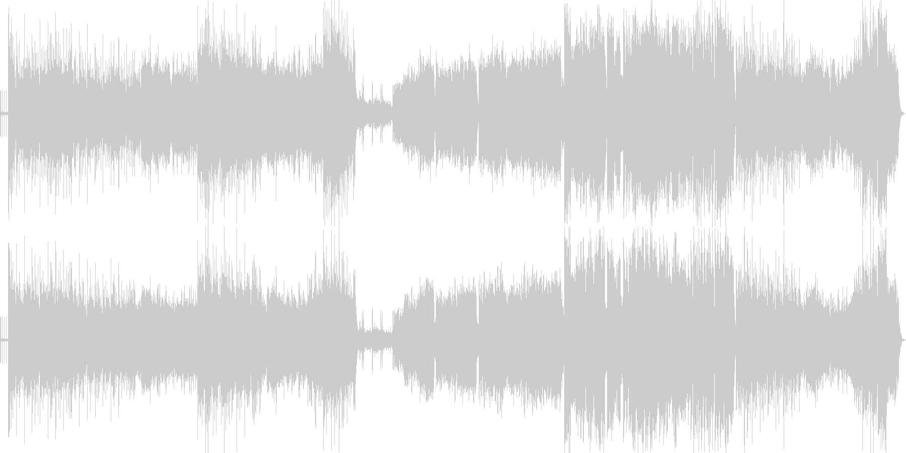 出陣のイメージの激しく壮大なオリジナル曲の未再生の波形