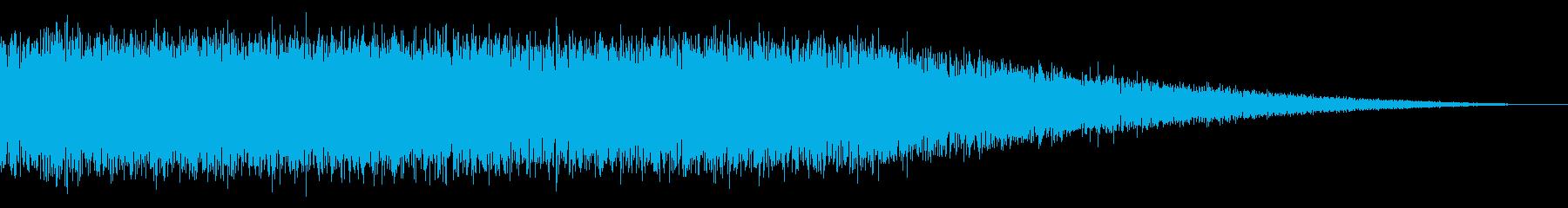 戦車の走行音/キャタピラの効果音!08の再生済みの波形