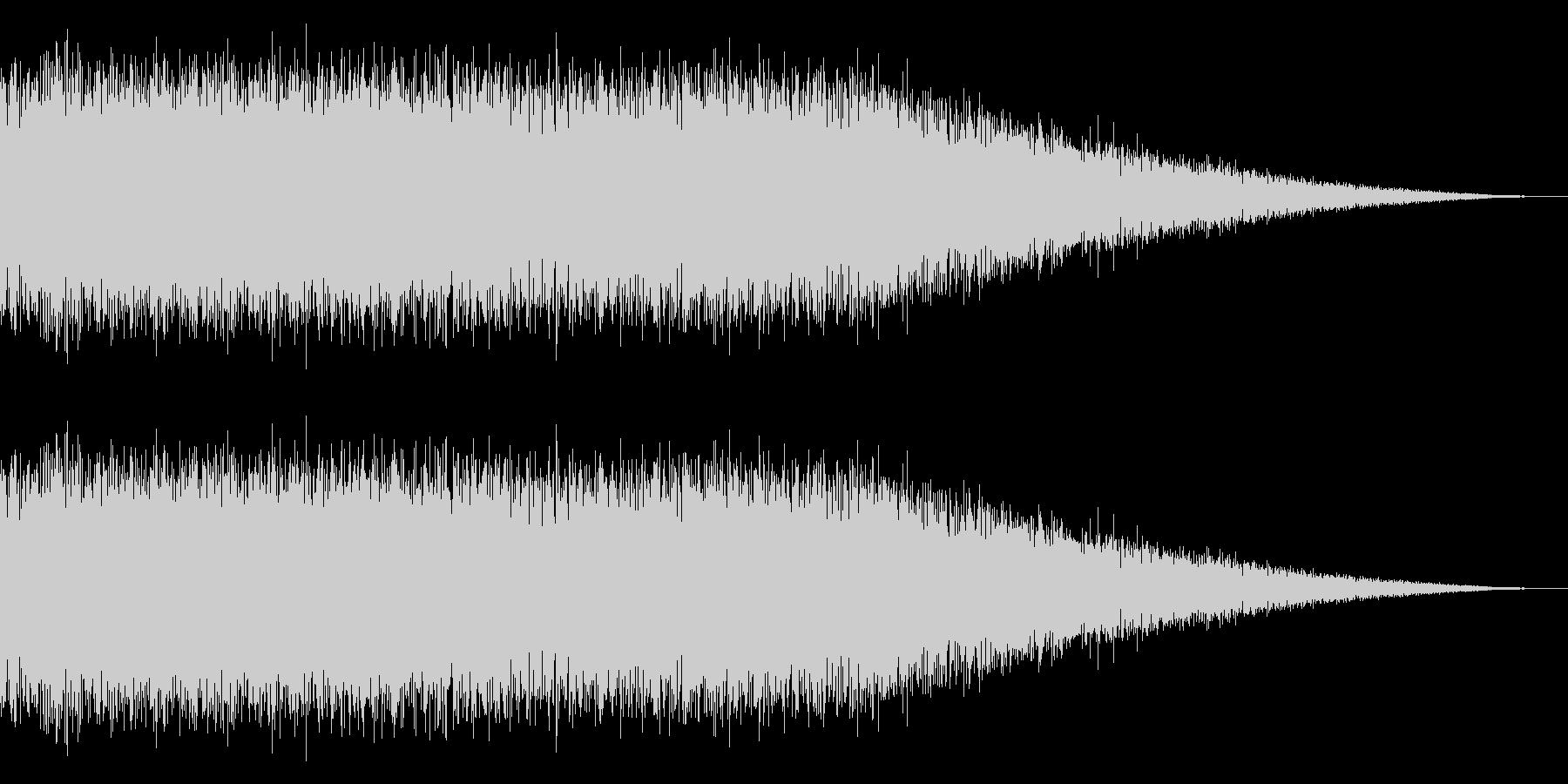 戦車の走行音/キャタピラの効果音!08の未再生の波形