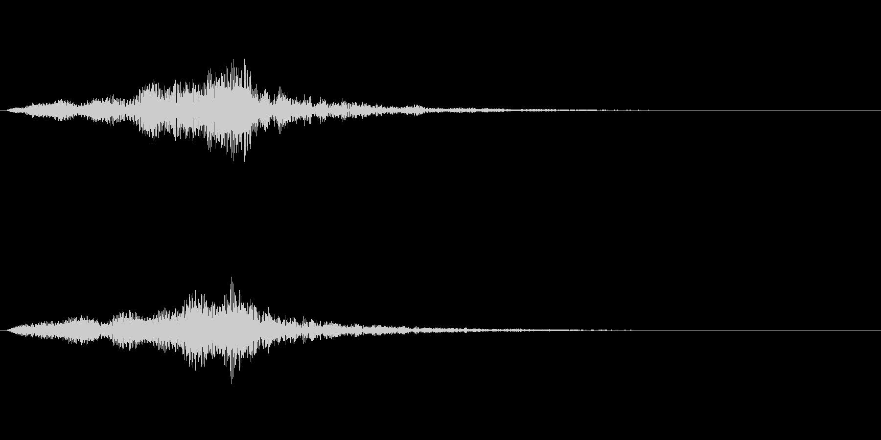 【単音・シリアス01-1】の未再生の波形