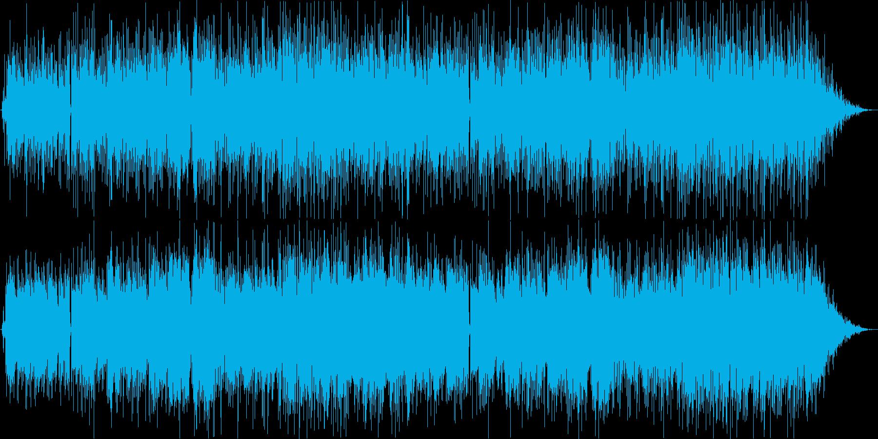 ポップな王道ボサノバ。ギターメロ。の再生済みの波形
