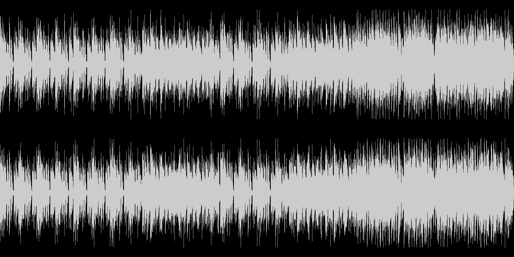 ゲーム等のBGM-1 ループの未再生の波形