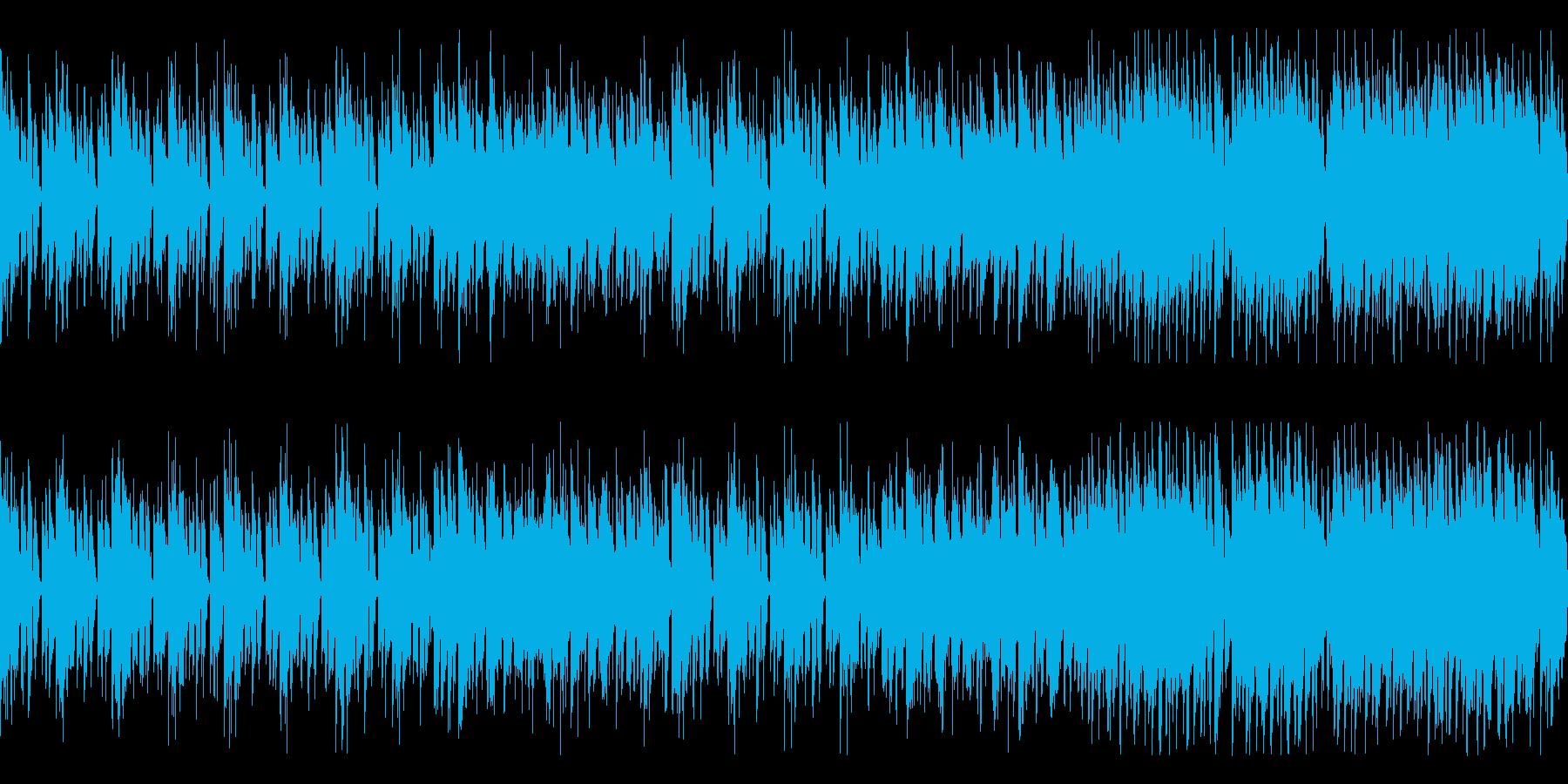 ゲーム等のBGM-1 ループの再生済みの波形