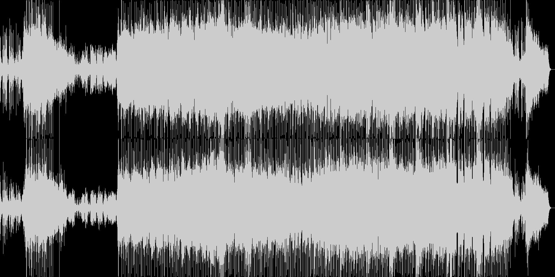 ピアノが印象的な寂しい雰囲気のバラードの未再生の波形