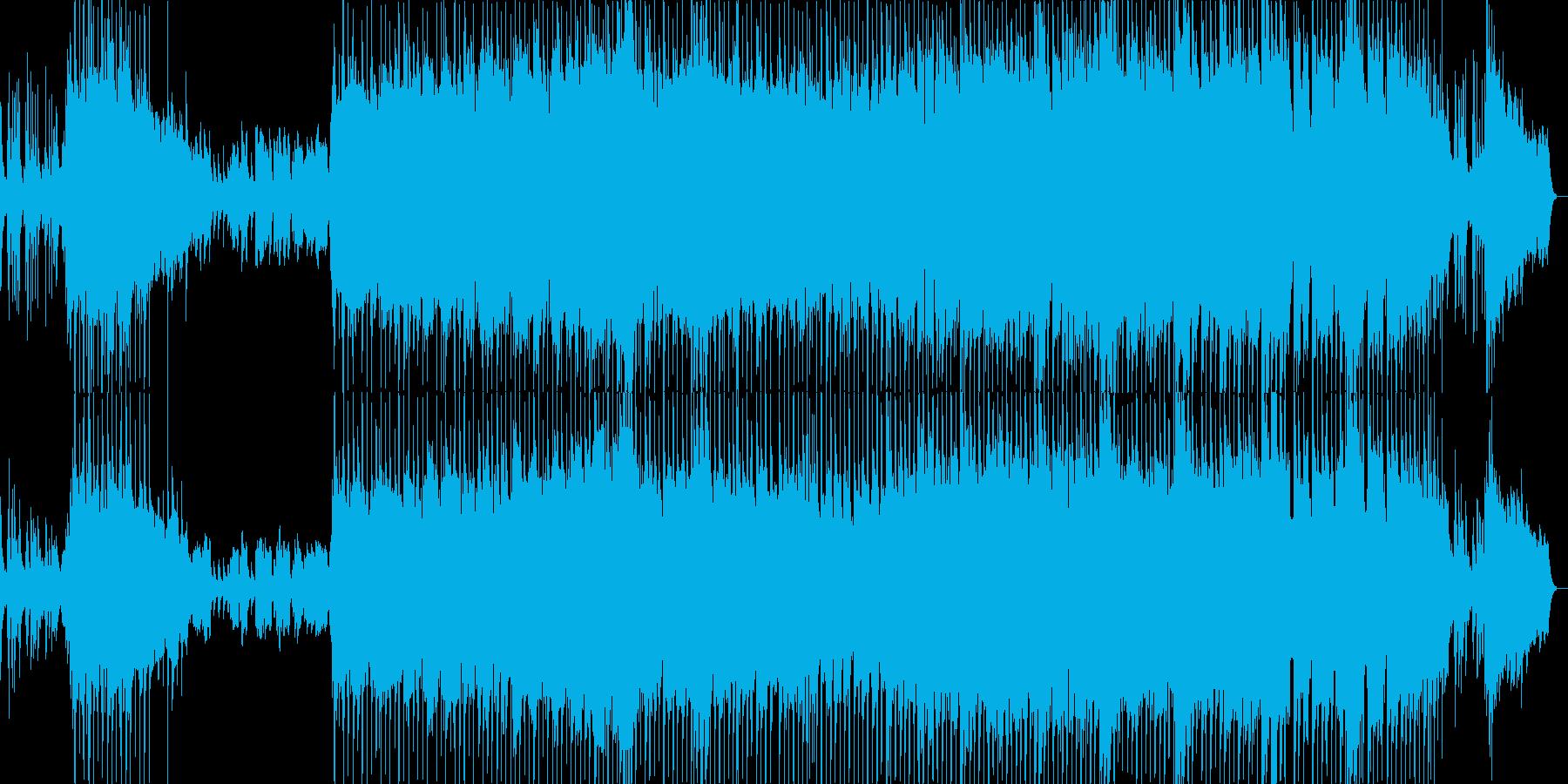 ピアノが印象的な寂しい雰囲気のバラードの再生済みの波形