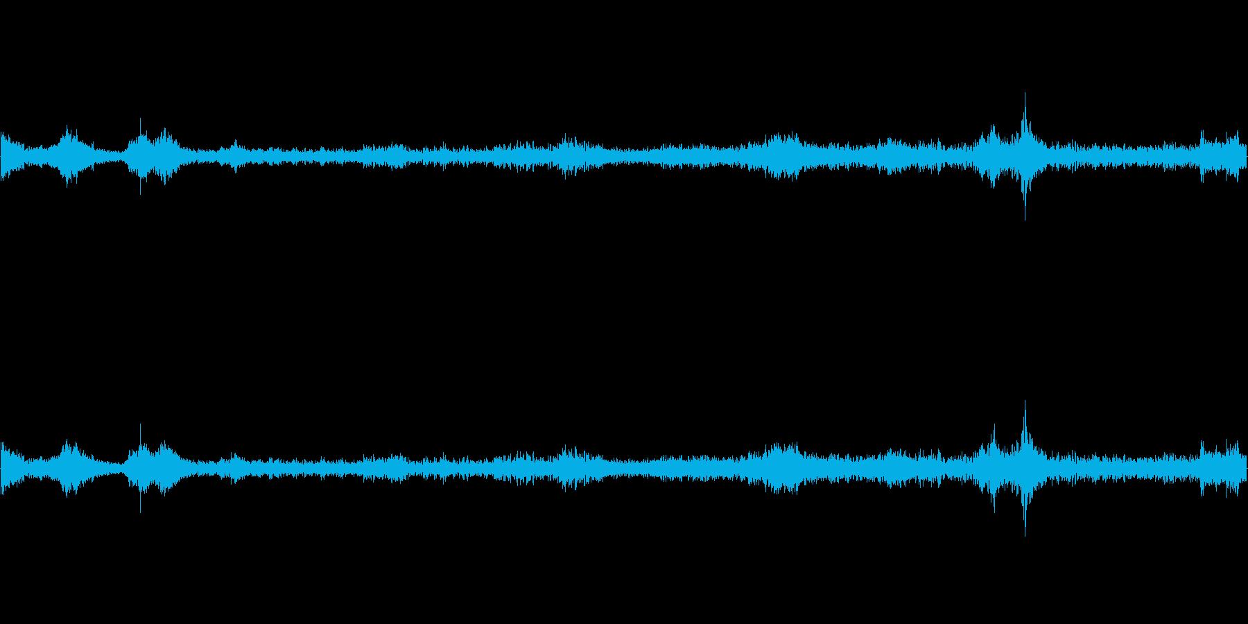 重機で建物(パン工場)を解体する音 の再生済みの波形