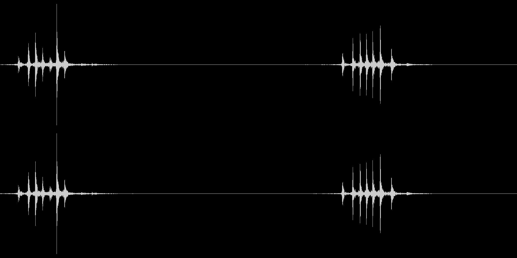 マウスのホイール2の未再生の波形