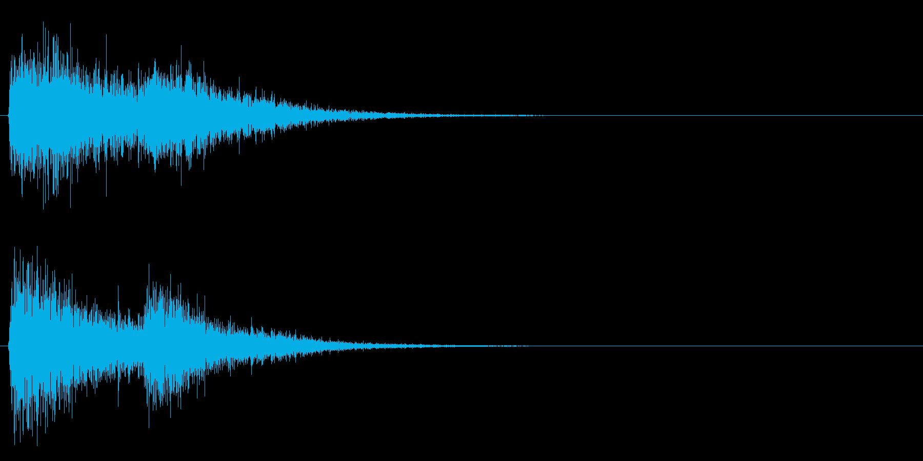 グワグワンの再生済みの波形