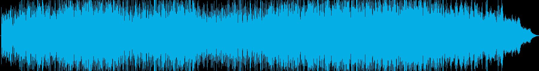 力強く、エネルギッシュなエレクトロハウ…の再生済みの波形