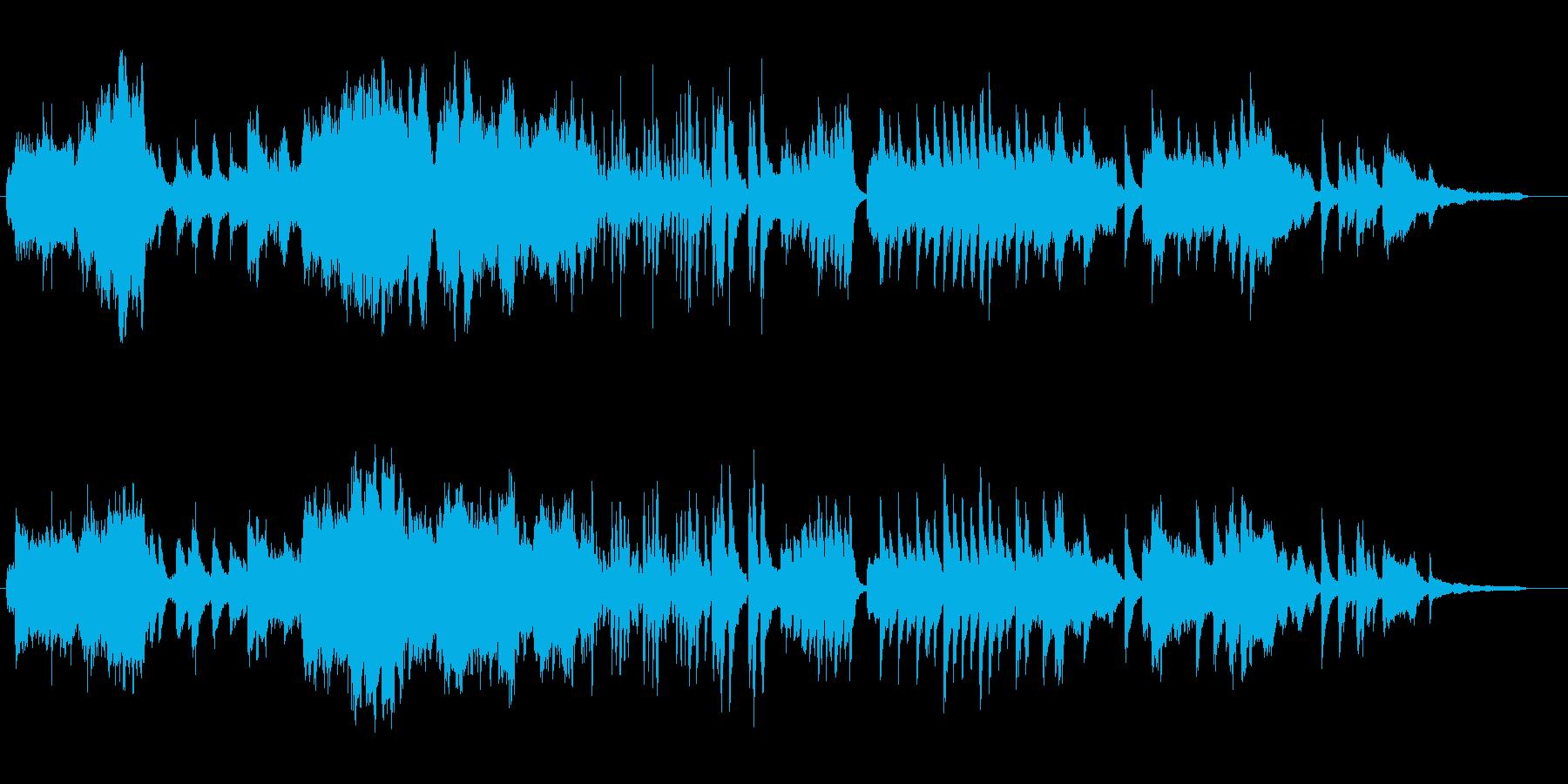 ベートーベン悲愴 ピアノコンチェルト風の再生済みの波形