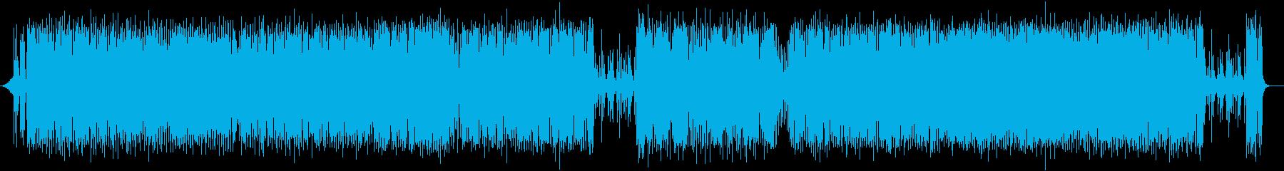 陽気でクールなエレキポップスの再生済みの波形