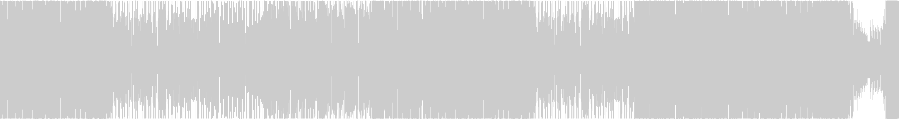 ダブステップ アクション アート EDMの未再生の波形