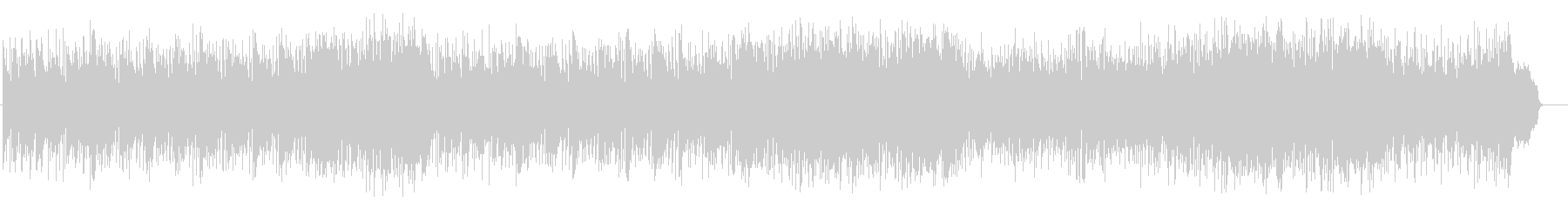大人の軽快なフュージョン(フルサイズ)の未再生の波形