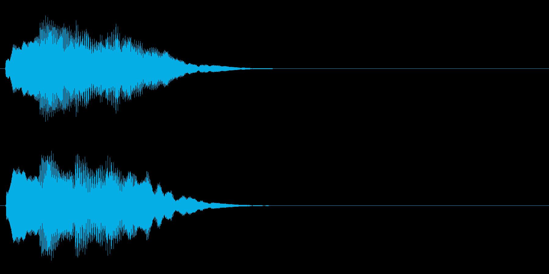汎用 キラキラ系06(大) アイテム発見の再生済みの波形