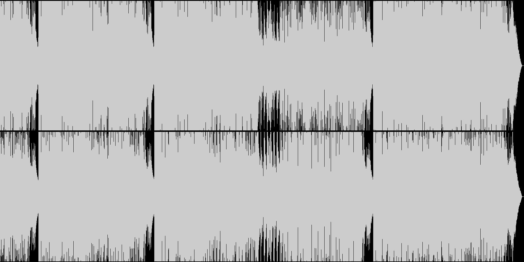 清々しい早めのボサノバ ボーカル入り02の未再生の波形