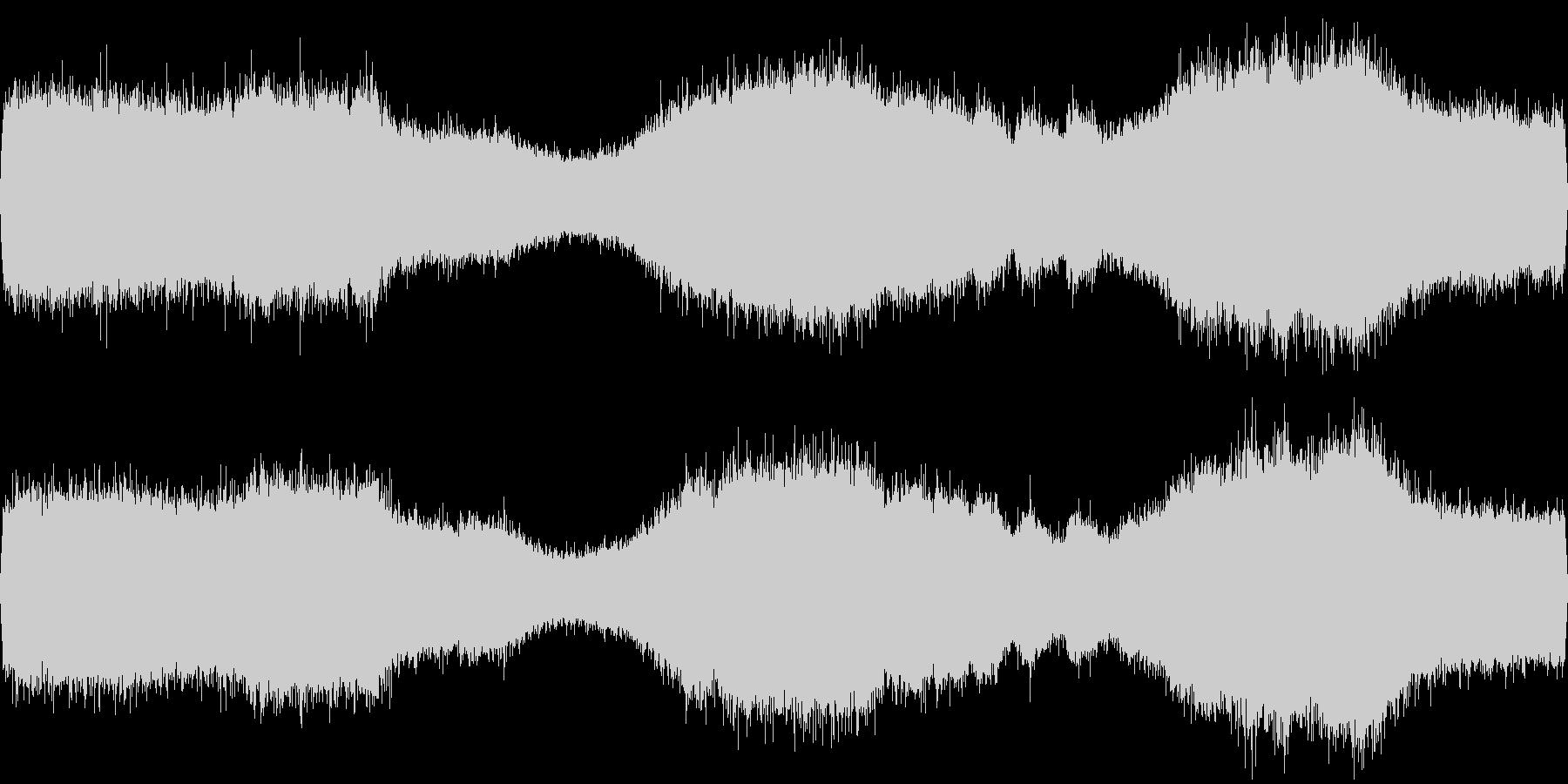 セミのフィールドレコーディングですの未再生の波形
