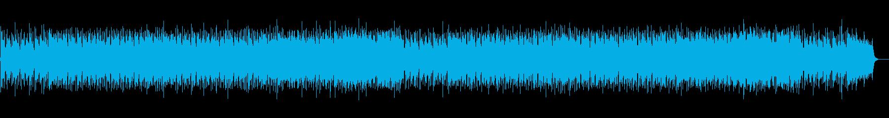 スキップするような気分のポップな弦楽の再生済みの波形