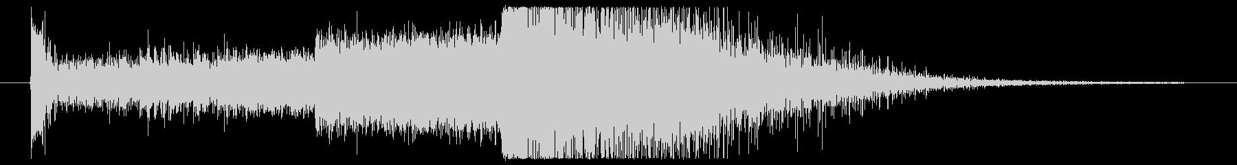 波動砲を発射する時の効果音・SEの未再生の波形