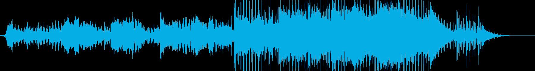 故郷チックなヒーリングサウンドの再生済みの波形