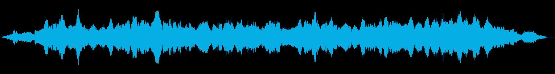 中華、心情、儚くゆったりとした曲の再生済みの波形