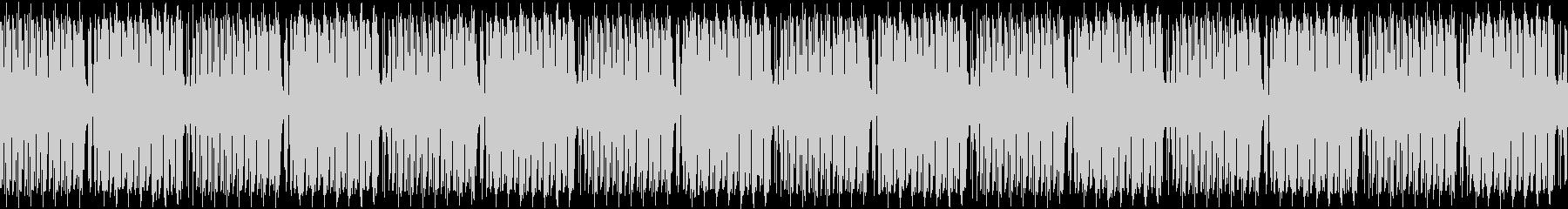 コミカルな雰囲気のブリッジBGMの未再生の波形