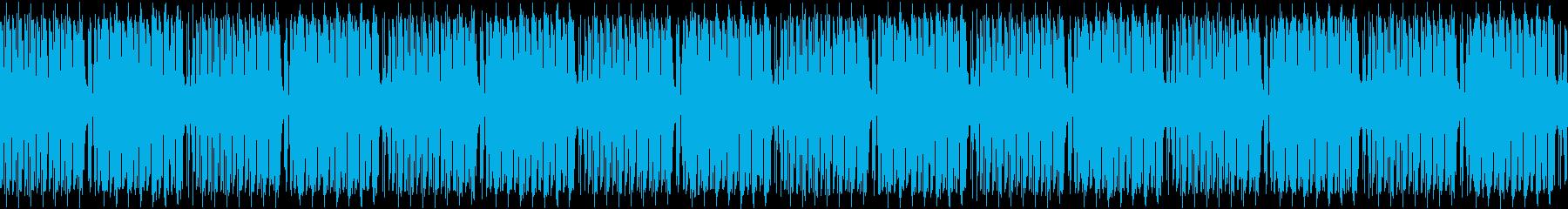 コミカルな雰囲気のブリッジBGMの再生済みの波形