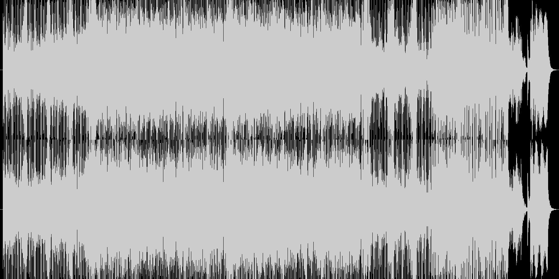 和楽器ロック琴尺八三味線太鼓の未再生の波形