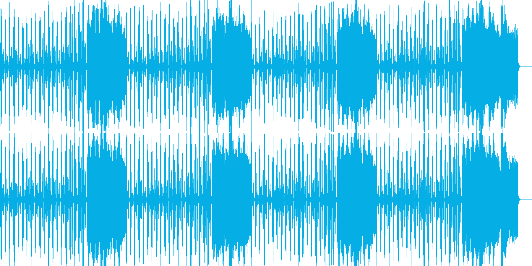 格調の高いス気品あるストリングス曲の再生済みの波形