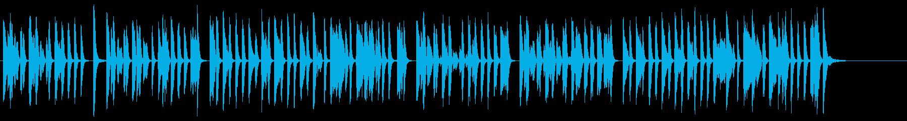 明るくコミカルなラグタイム調ピアノソロの再生済みの波形