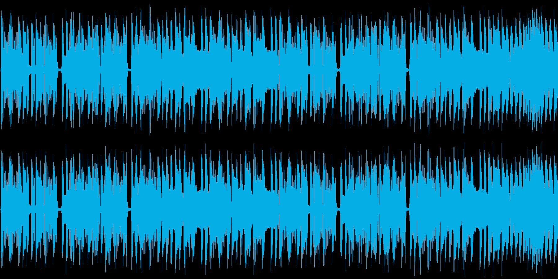 【ポップ/チップチューン】の再生済みの波形