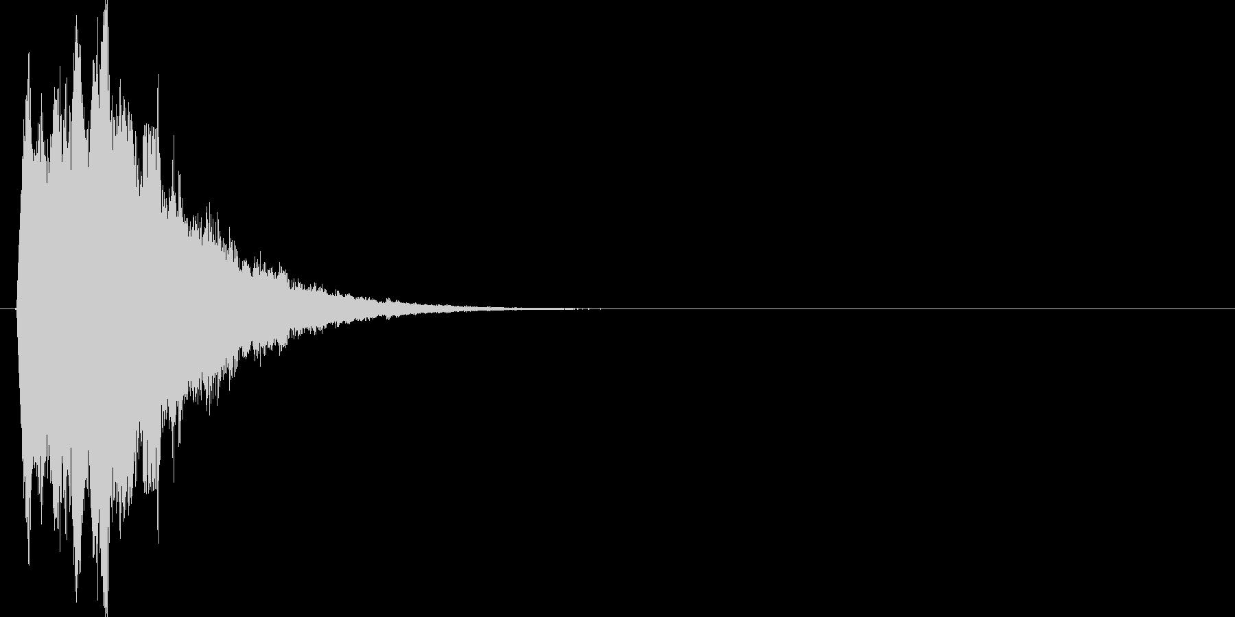 キラリン↑(星、派手、スタート音)の未再生の波形